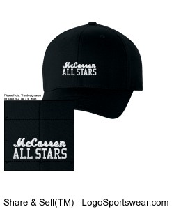 McCarren All Stars Cap Design Zoom