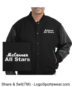 McCarren All Stars Varsity Jacket Design Zoom