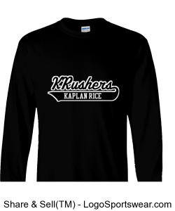 KRushers 100% Heavyweight Ultra Cotton Long Sleeve Adult T-Shirt Design Zoom