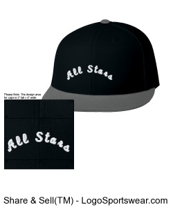 Flexfit Flat Bill Cap Design Zoom